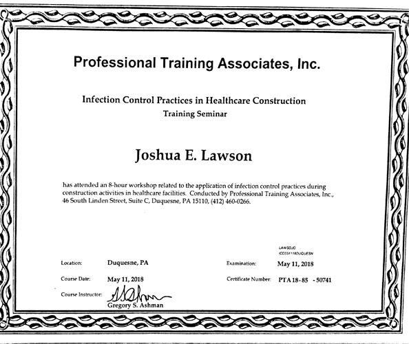 Disinfection_sertificat